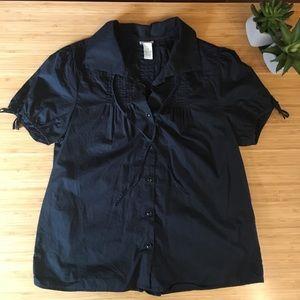 Odille Tie Button Blouse Size 10